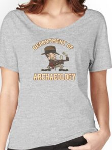 Dept. of Archaeology with Fighting Mascot Women's Relaxed Fit T-Shirt