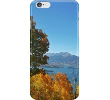 Lake Dillon from Tenderfoot Trail iPhone Case/Skin