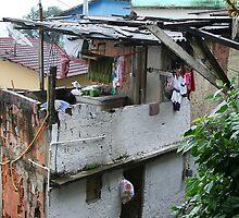 Favela, Rio de Janeiro by Maggie Hegarty