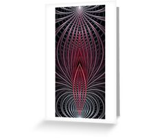 Wire Splits Greeting Card