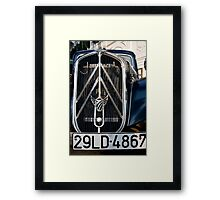 Magic Grill Framed Print