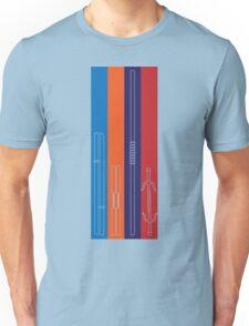 Leonardo, Michelangelo, Donatello, Raphael - Stripes T-Shirt