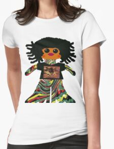 Little Reggae Rag Doll Womens Fitted T-Shirt