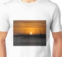 Sunset Over The Water Unisex T-Shirt