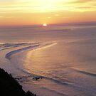 beach sunset by DannicaS