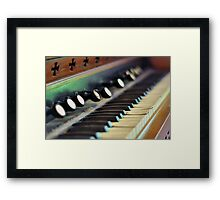 Keys of Ivory - Original Framed Print
