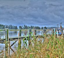 Raymond Terrace Wharf by Scott Mclaren