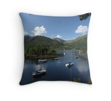 Bishop's Bay, Ballachulish. Throw Pillow