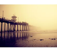Huntington Beach Pier Photographic Print