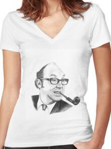 Eric Morecambe Women's Fitted V-Neck T-Shirt