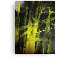 glow..... yellow flame Canvas Print