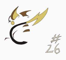 Pokemon 26 Raichu Kids Clothes