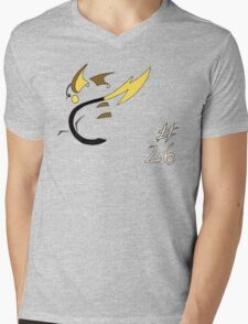 Pokemon 26 Raichu Mens V-Neck T-Shirt