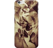 Passage in Lower Antelope Canyon iPhone Case/Skin