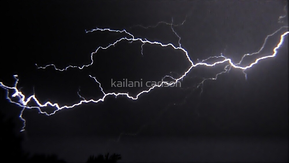 "6/8/2011 Electrical Storm, ""Lightning Strike # 3"" by kailani carlson"