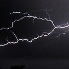 """6/8/2011 Electrical Storm, """"Lightning Strike # 3"""" by MJD Photography  Portraits and Abandoned Ruins"""