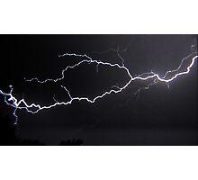 "6/8/2011 Electrical Storm, ""Lightning Strike # 3"" Photographic Print"
