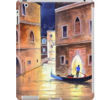 Venice Italy - Evening Gondola Ride iPad Case/Skin