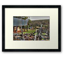 The Abandoned Farm Framed Print
