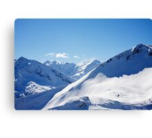 Gasteinertal Alps #3 Canvas Print