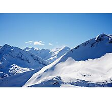 Gasteinertal Alps #3 Photographic Print