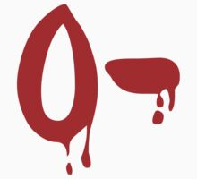 Blood Group O- Negative #Horror Hospital One Piece - Short Sleeve