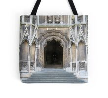 Entrance to Mary Redcliffe Church. Tote Bag