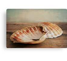 Coquilles St.Jacques Canvas Print
