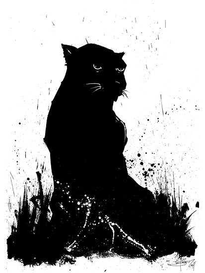 Black Panther by Per Ove Sleen