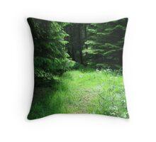 Woodland Glade. Throw Pillow