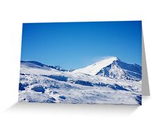 Gasteinertal Alps #2 Greeting Card
