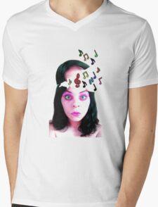 Musical Genius Tee Mens V-Neck T-Shirt