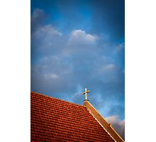 The Golden Cross Photographic Print
