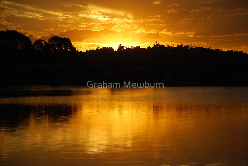 Golden Lake Kimberley by Graham Mewburn
