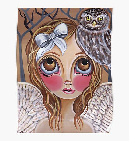 """Owl Angel"" Poster"