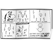 xkcd : eXtra Kilo Calorie Diet Poster