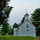 Rural Church, Meigs County, Ohio, USA by Bryan D. Spellman