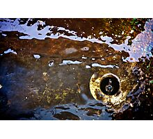 Rusty Water Photographic Print