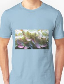 Hydrangea Blossoms Unisex T-Shirt