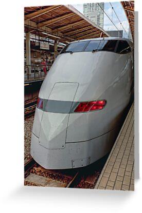 Shinkansen • Osaka • Japan by William Bullimore