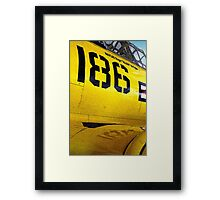 Them's Fighting Numbers Framed Print
