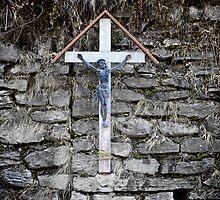 Roadside Cross by hynek