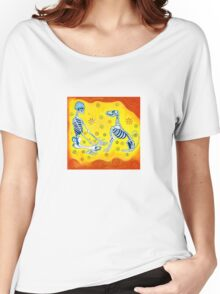 There is no death.  Only different realms. Women's Relaxed Fit T-Shirt