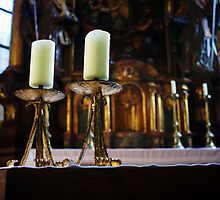 St. Nicolas Church Interior by hynek