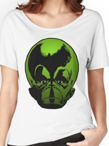 Big Green Mekon Head the second Women's Relaxed Fit T-Shirt