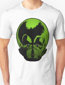 Big Green Mekon Head the second Unisex T-Shirt
