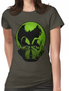 Big Green Mekon Head the second Womens Fitted T-Shirt