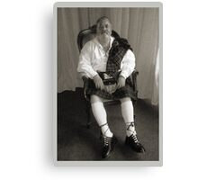 Father Of The Bride Canvas Print