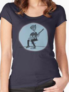 The Guitar Player Women's Fitted Scoop T-Shirt