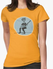The Guitar Player Womens Fitted T-Shirt